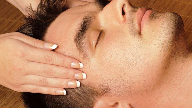 Indian Head Massage for hair regrowth