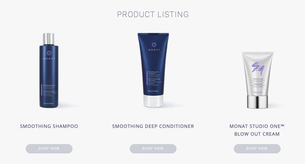 smoothing system products monat