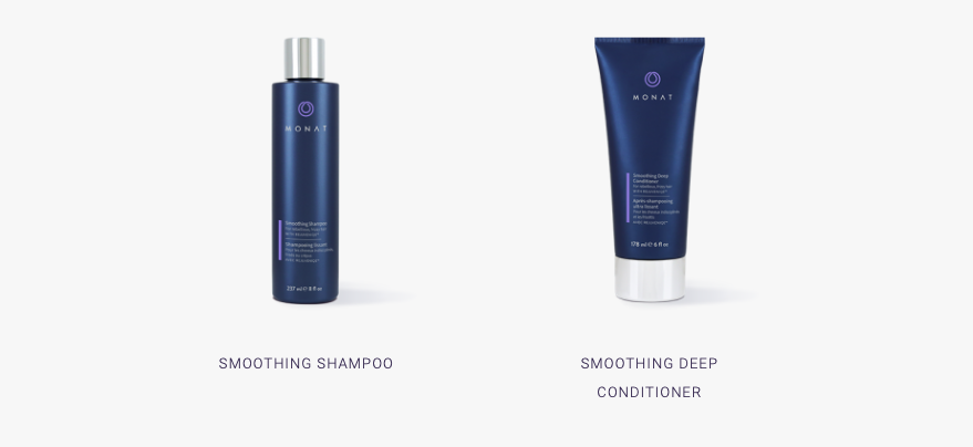 monat hair smoothing